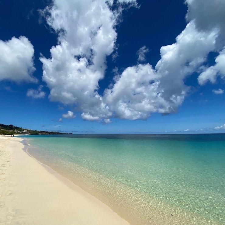 Grenada's iconic beach