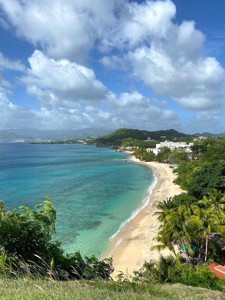 Beach view at Maca Bana
