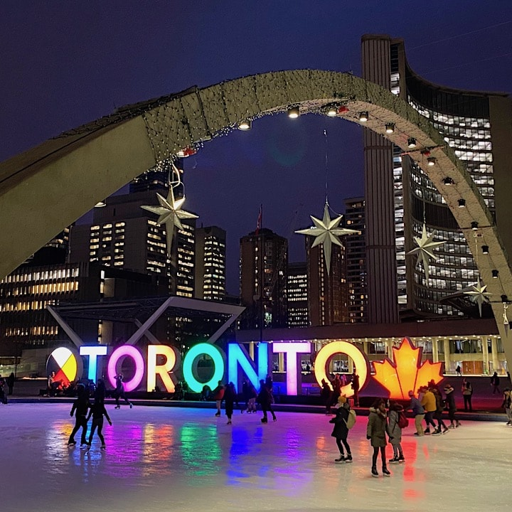 Wintertime Toronto